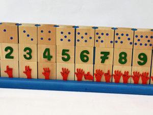 Cubes de chiffres