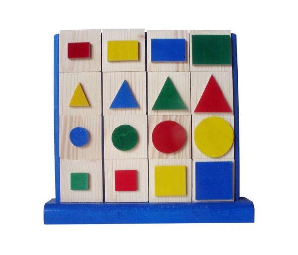Cubes apprentissage des formes