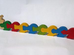 Puzzle chenille