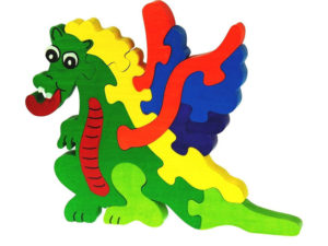 Puzzle en bois dragon