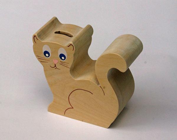 Tirelire chat