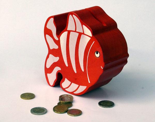 Tirelire poisson rouge Nemo